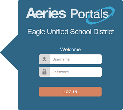 Portals Login Screen