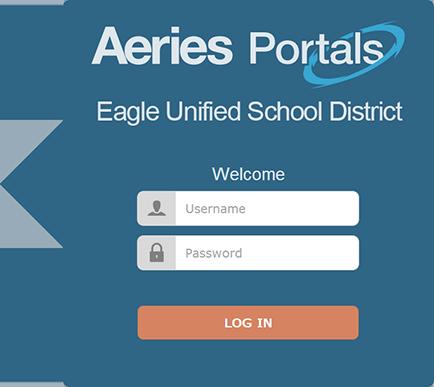 Portals Login Screen